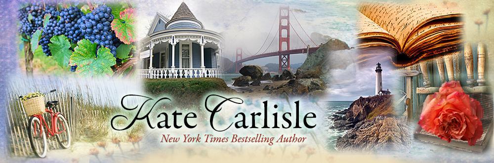 Author Kate Carlisle